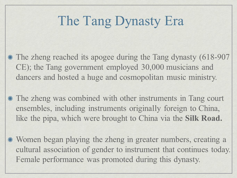 The Tang Dynasty Era