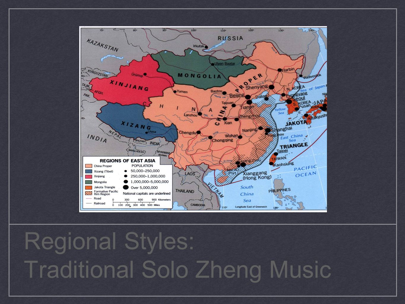 Regional Styles: Traditional Solo Zheng Music