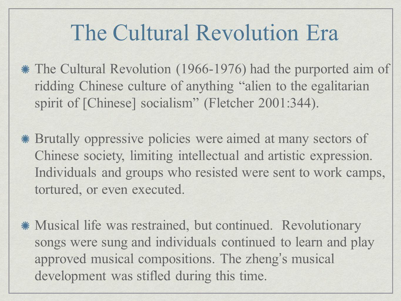 The Cultural Revolution Era