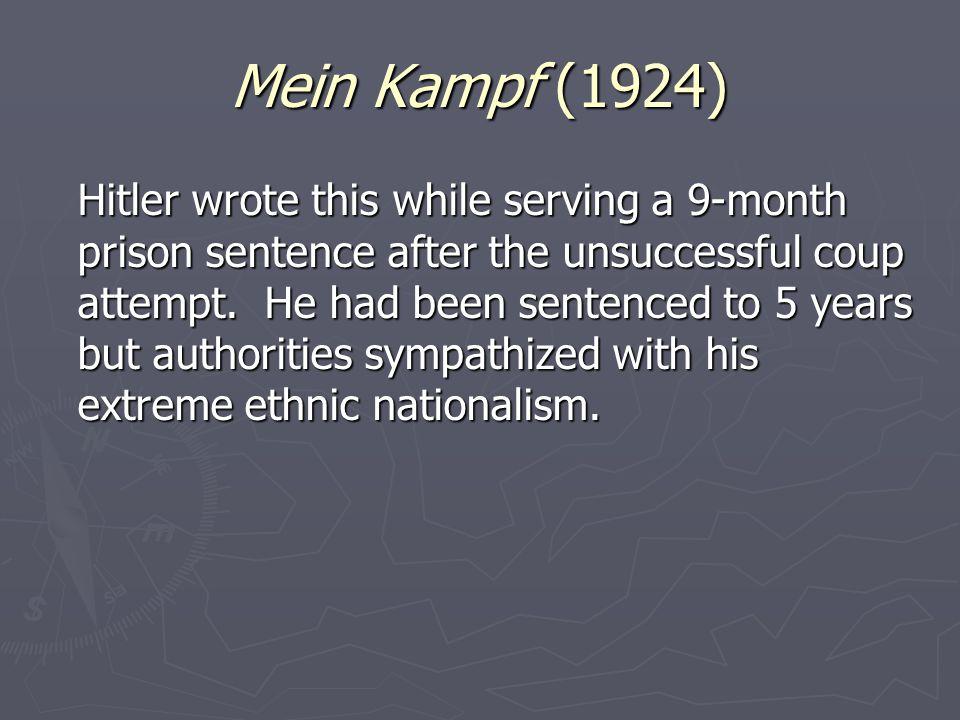 Mein Kampf (1924)