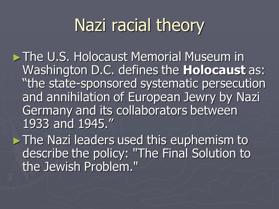 Nazi racial theory
