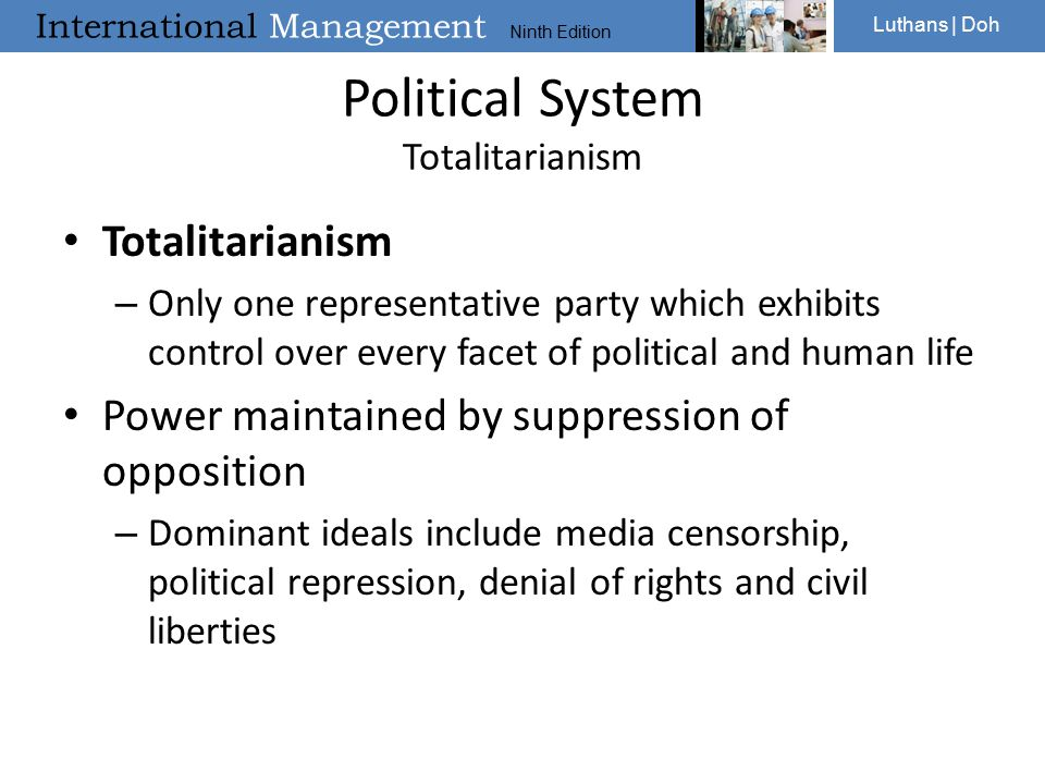 Political System Totalitarianism