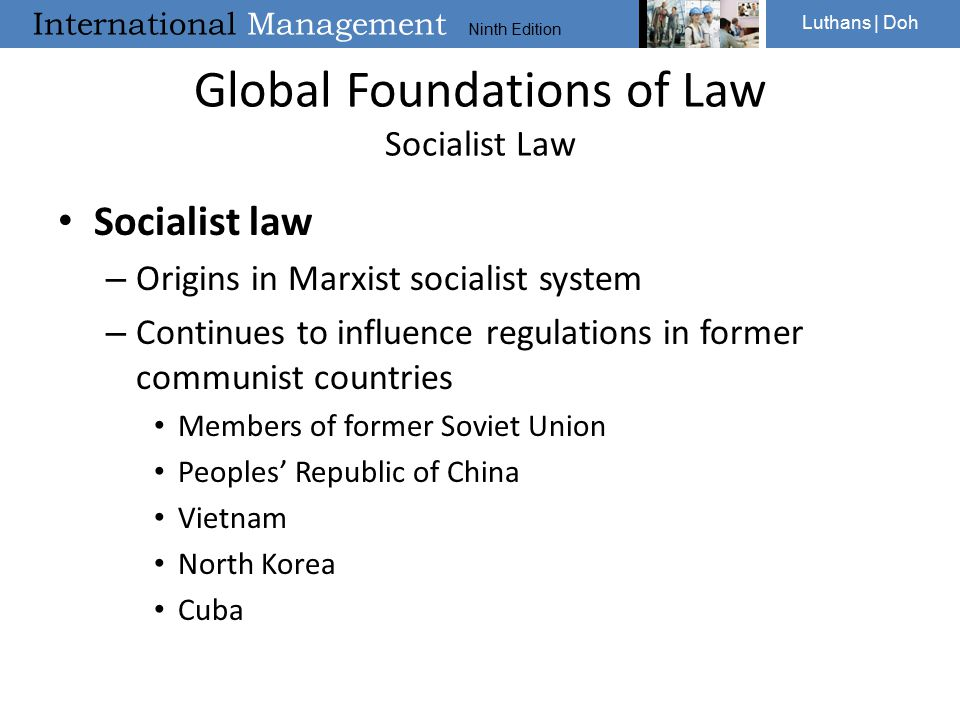 Global Foundations of Law Socialist Law