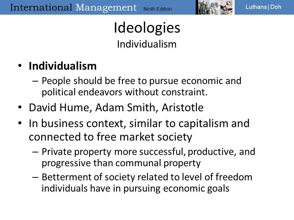 Ideologies Individualism