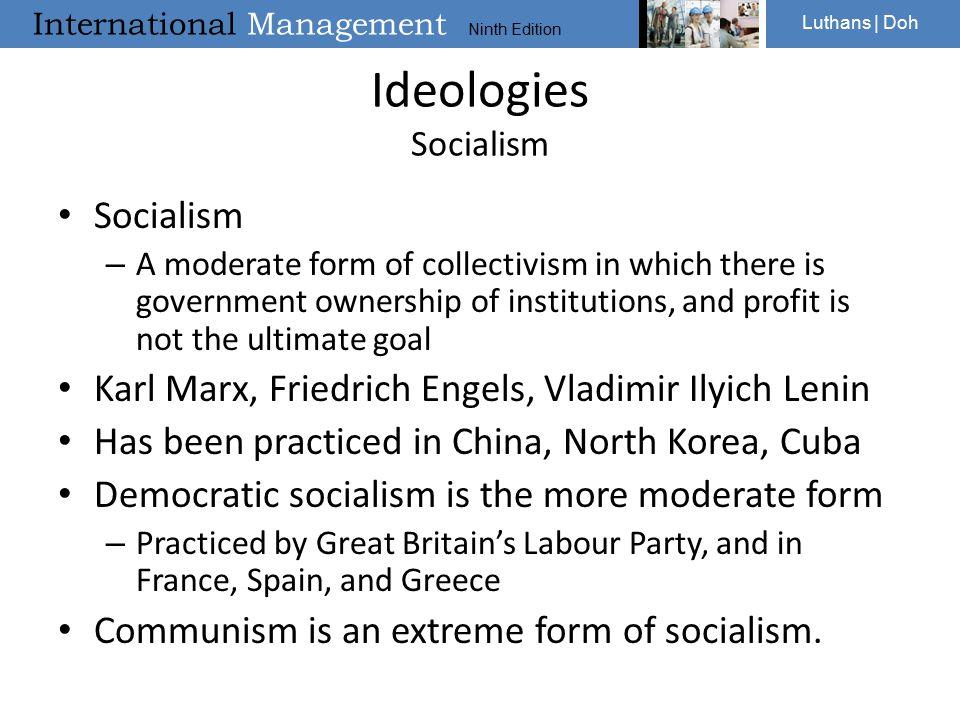 Ideologies Socialism Socialism