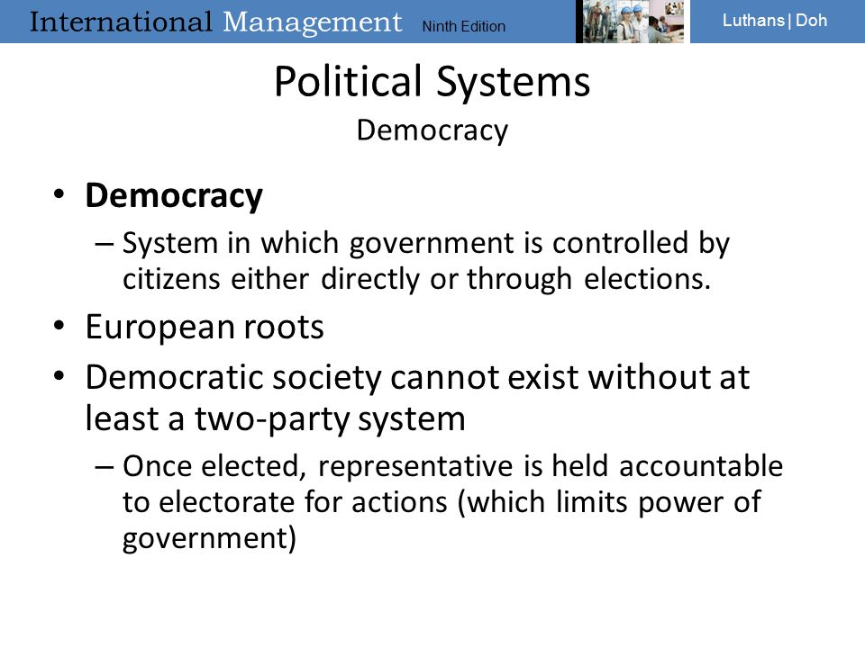 Political Systems Democracy