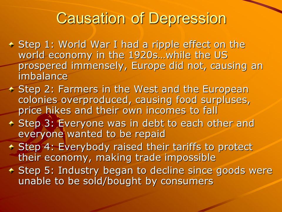Causation of Depression