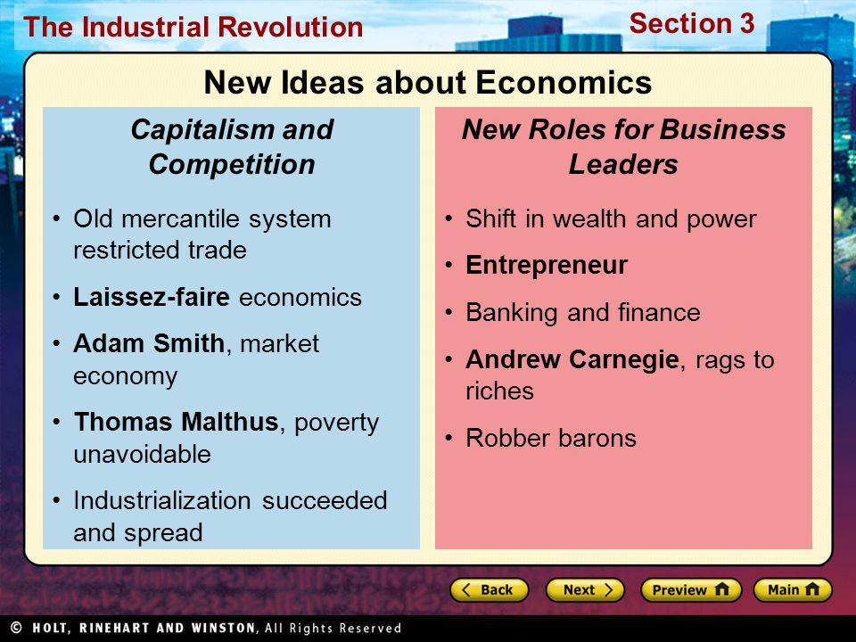 New Ideas about Economics