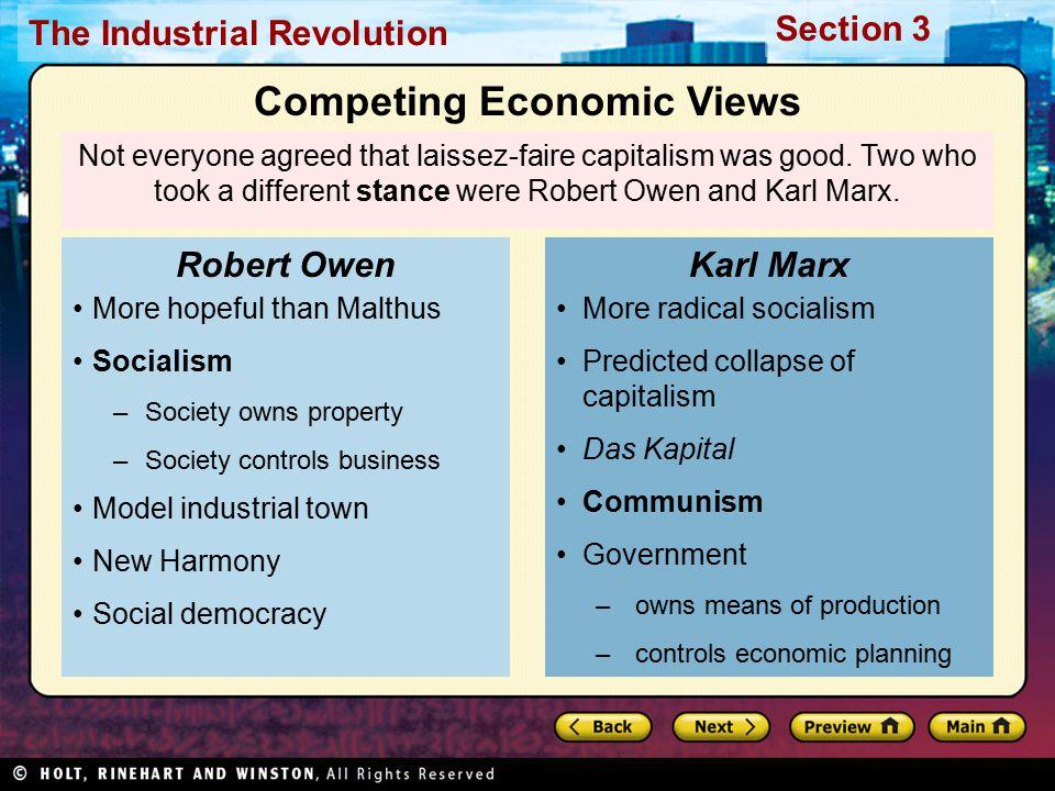 Competing Economic Views