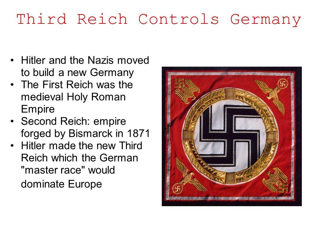 Third Reich Controls Germany