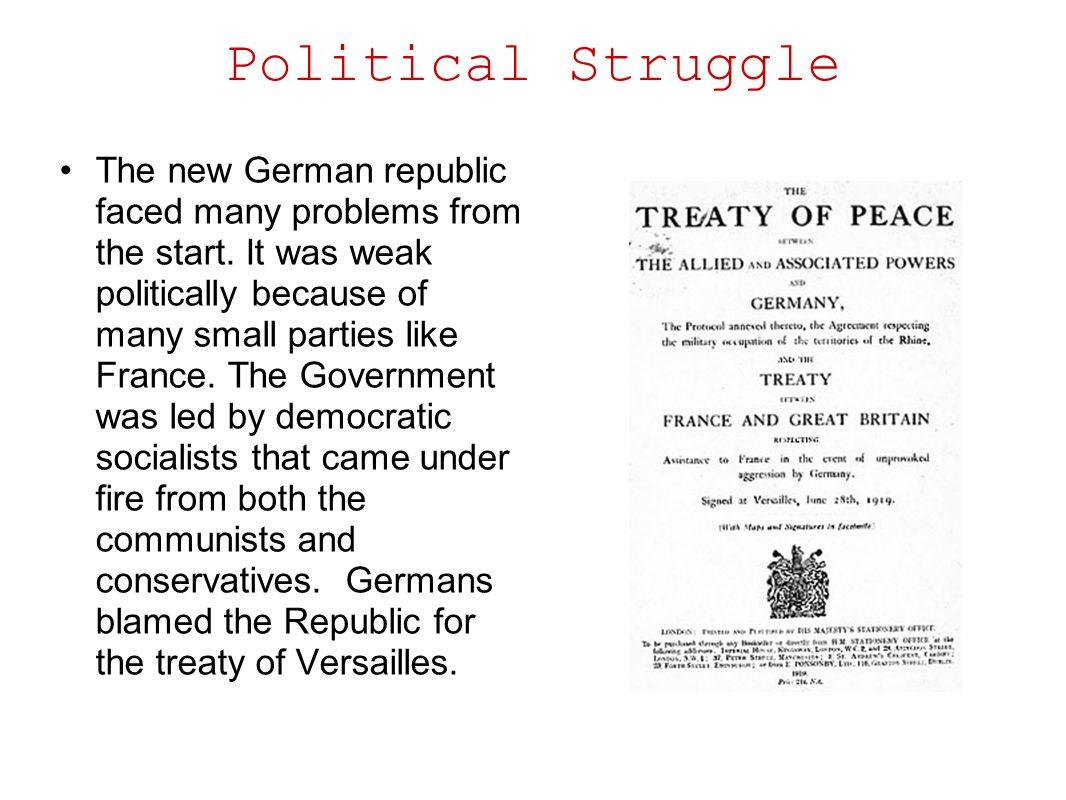 Political Struggle