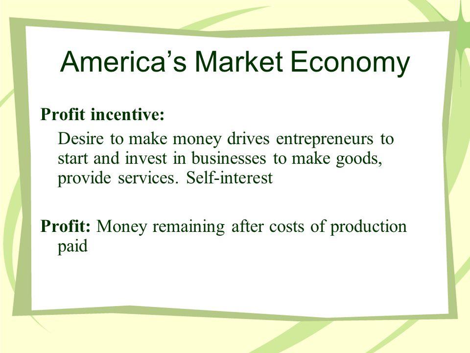 America's Market Economy