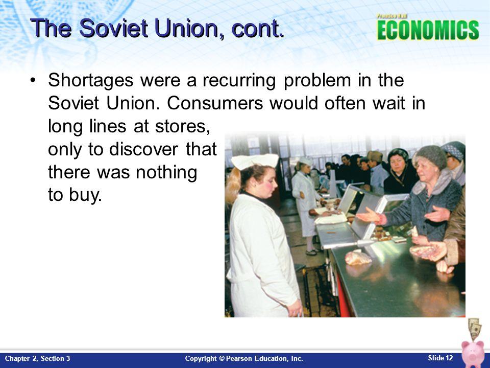 The Soviet Union, cont.