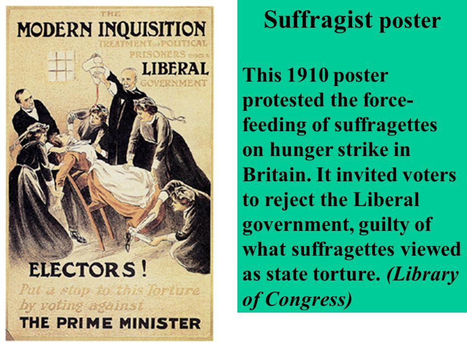 Suffragist poster