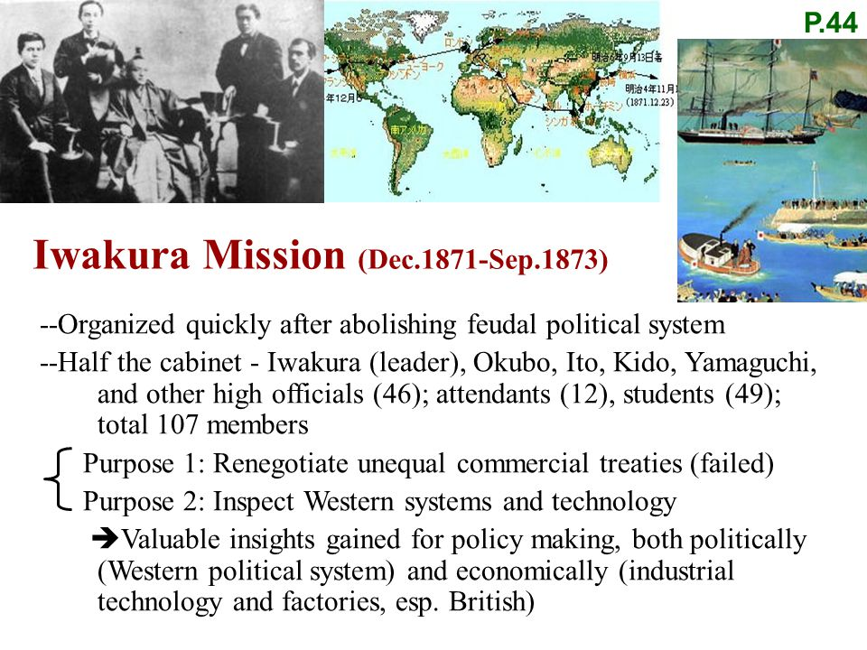 Iwakura Mission (Dec.1871-Sep.1873)