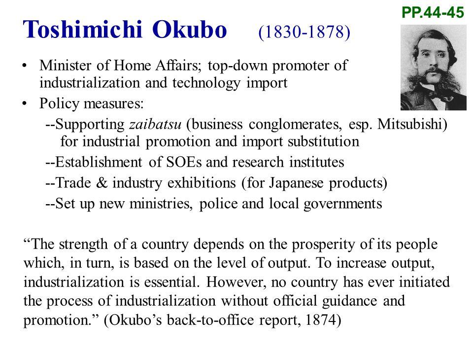 Toshimichi Okubo (1830-1878) PP.44-45