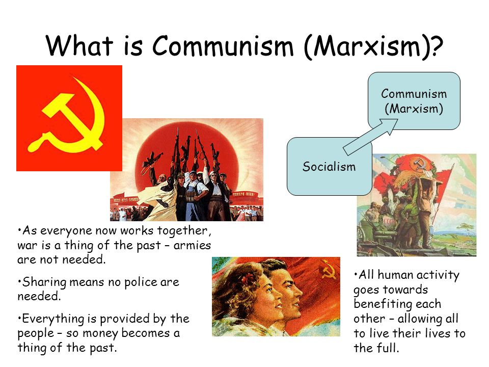 What is Communism (Marxism)