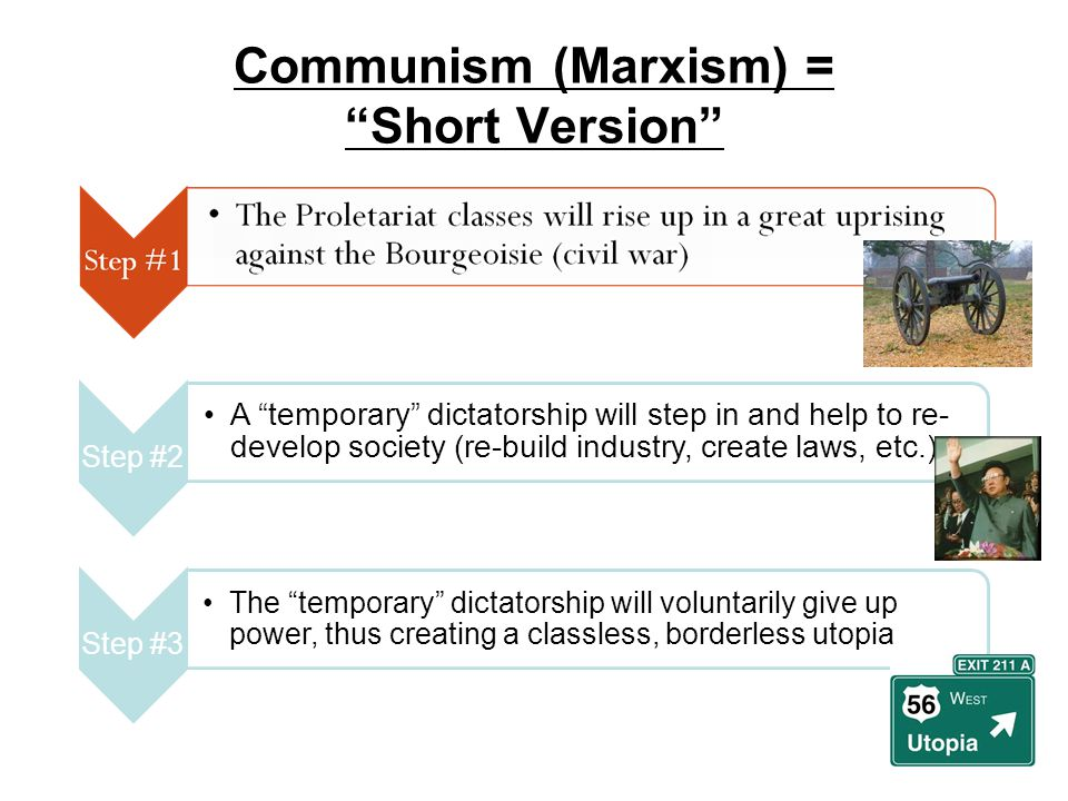 Communism (Marxism) = Short Version