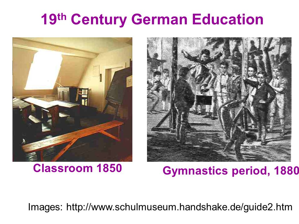 19th Century German Education