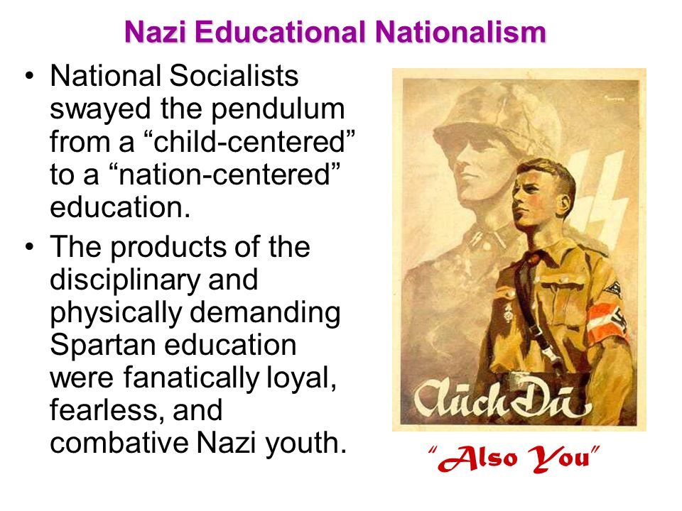 Nazi Educational Nationalism