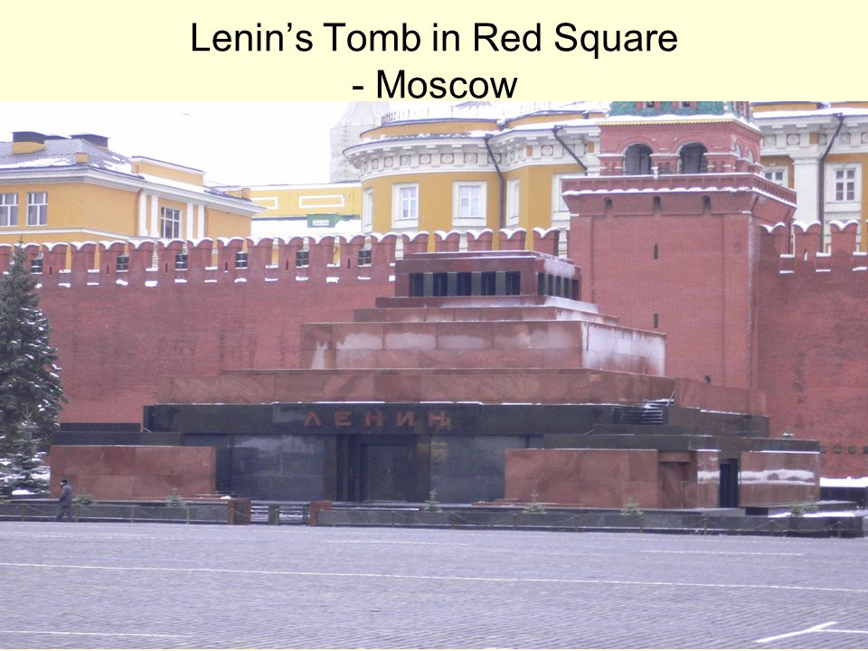 Lenin's Tomb in Red Square - Moscow