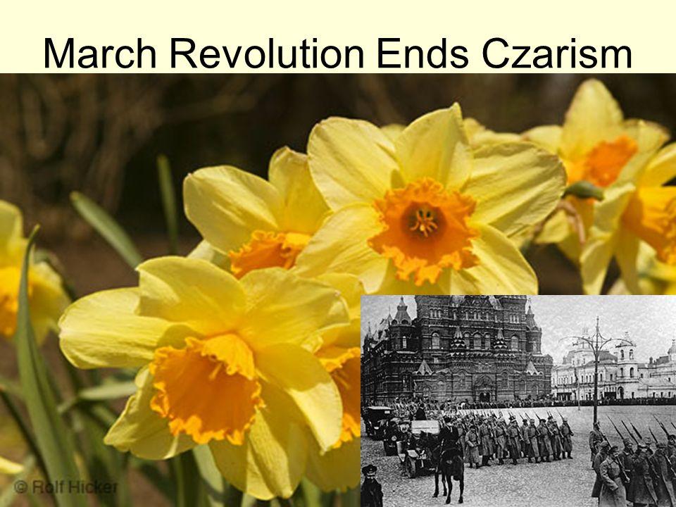 March Revolution Ends Czarism