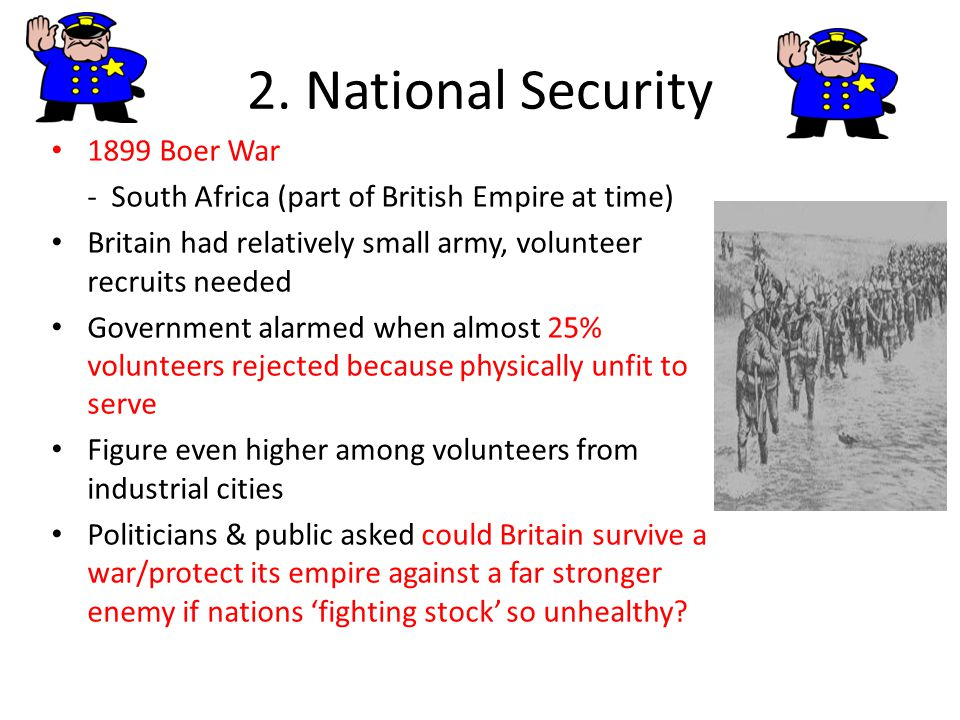 2. National Security 1899 Boer War