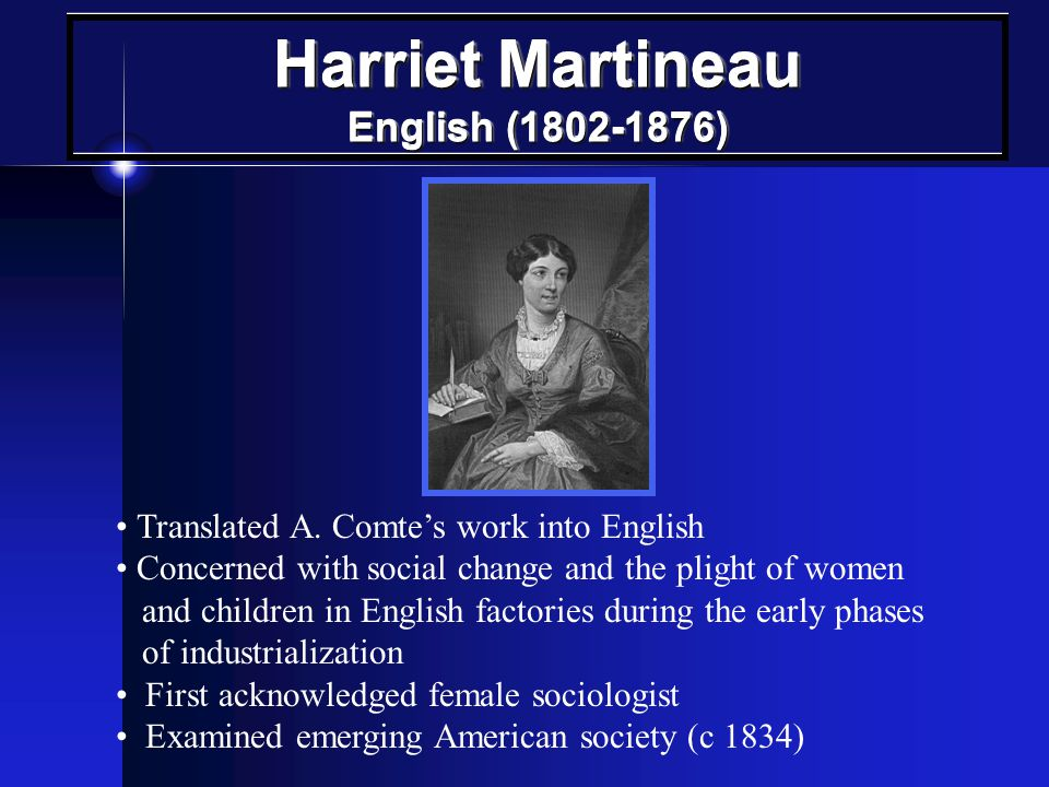 Harriet Martineau English (1802-1876)