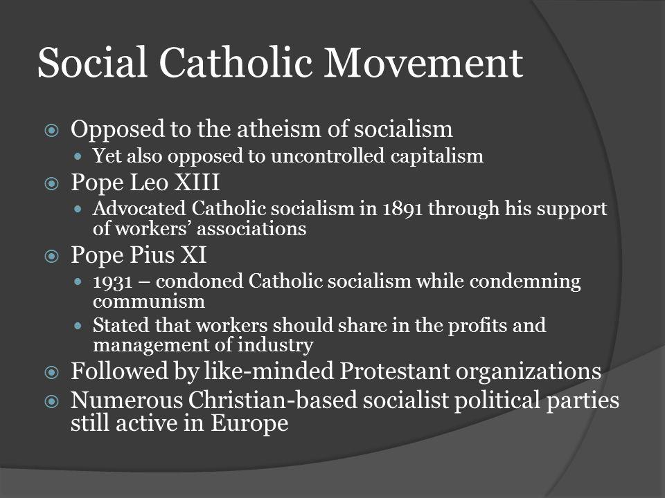 Social Catholic Movement