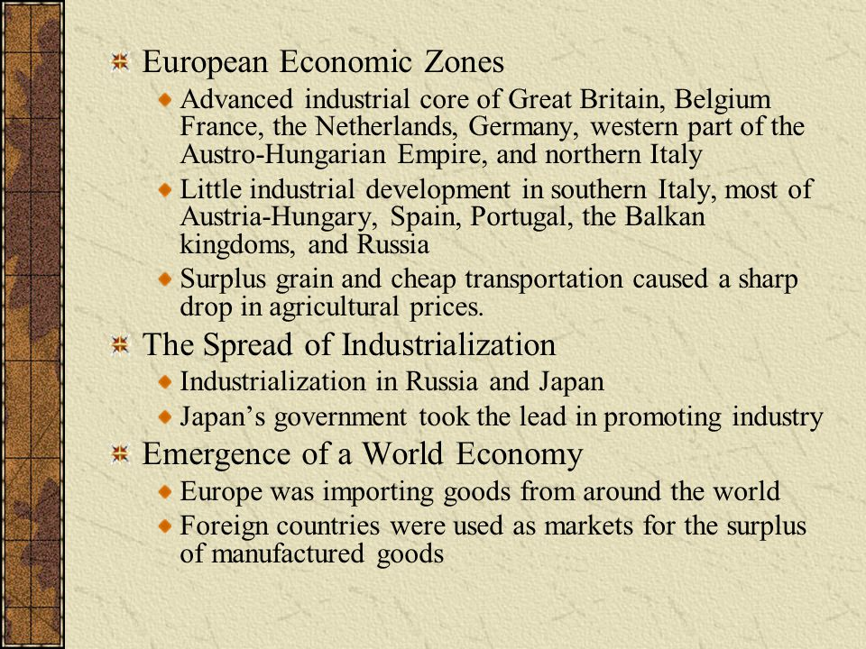 European Economic Zones