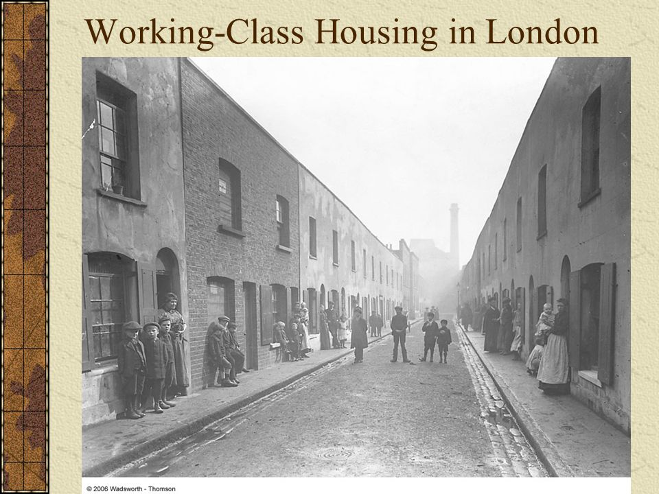 Working-Class Housing in London