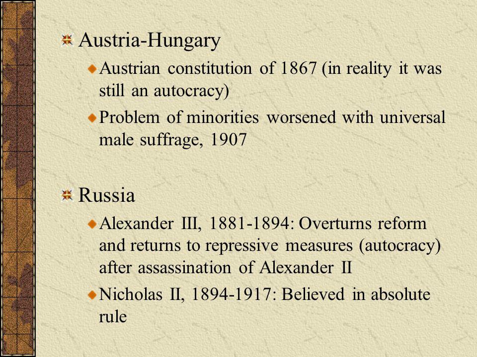 Austria-Hungary Russia