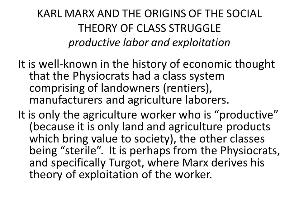 a look at karl marxs views on social structure of urban society The totality of these relations of production constitutes the economic structure of society  views and their theory of working-class revolution is built.