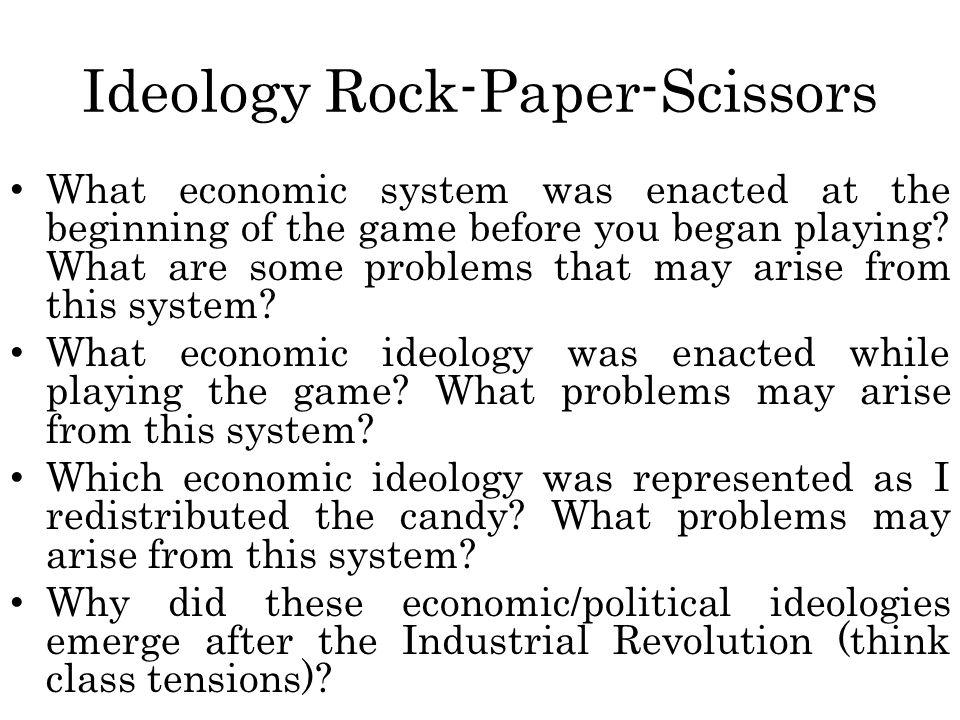 Ideology Rock-Paper-Scissors