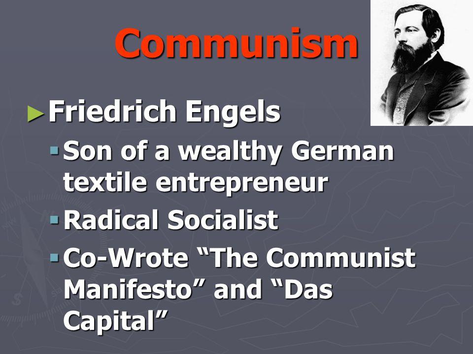 Communism Friedrich Engels