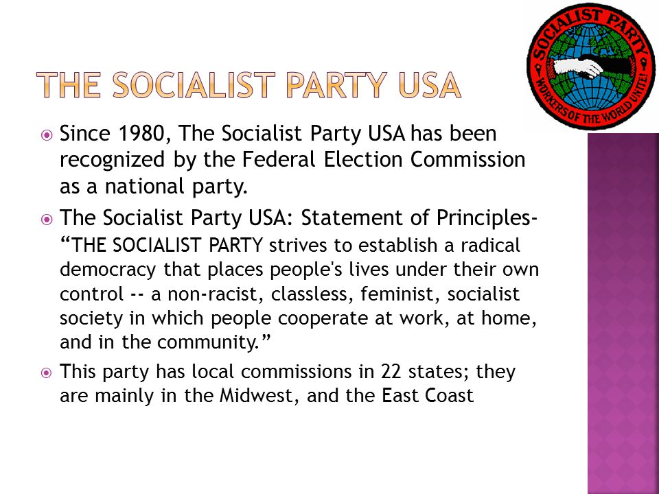 The Socialist Party USA