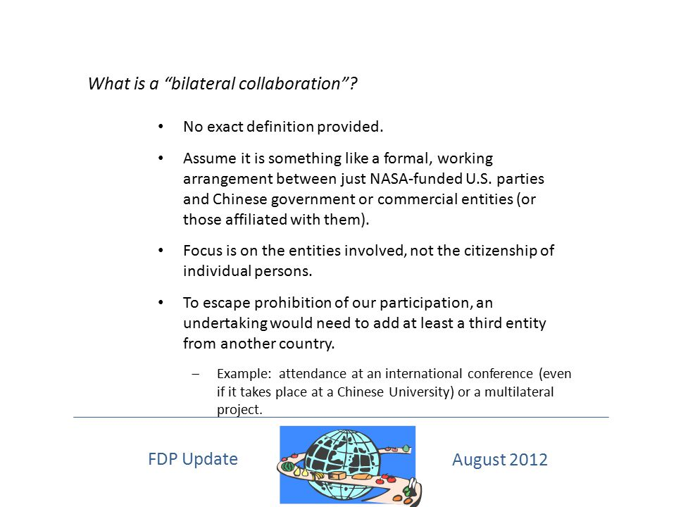 What is a bilateral collaboration