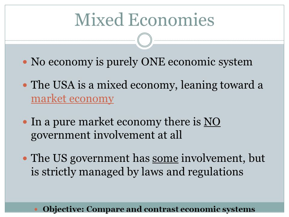 role of government in mixed economy The government directs economic activity in some socially important areas of the  economy, the rest  but post-independence, she adopted the mixed economy  system  it has played an important role in the development of indian economy.