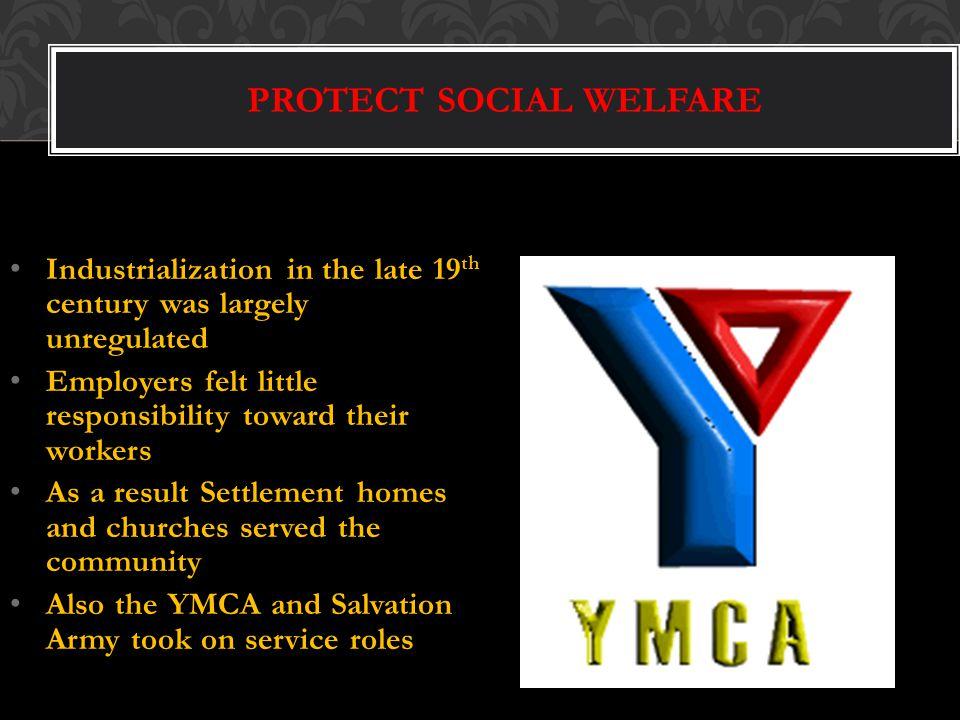 PROTECT SOCIAL WELFARE