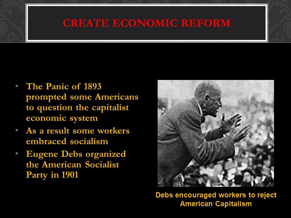 CREATE ECONOMIC REFORM