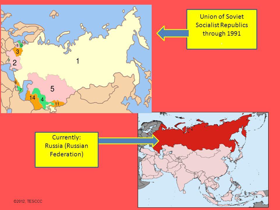 Union of Soviet Socialist Republics through 1991