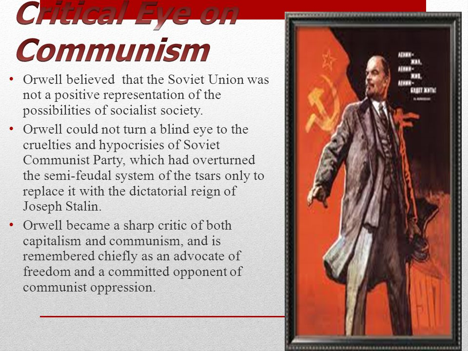 Critical Eye on Communism