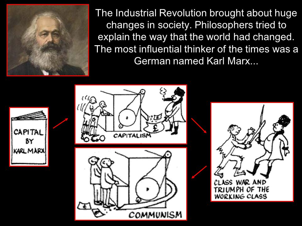The Industrial Revolution brought about huge changes in society
