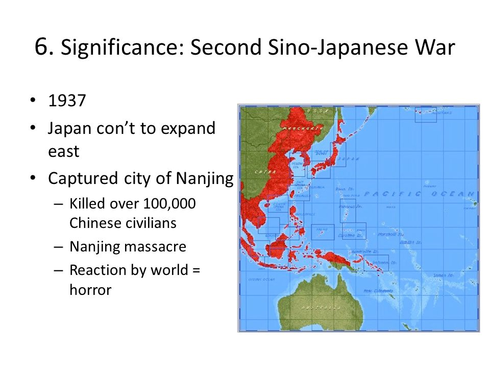 6. Significance: Second Sino-Japanese War