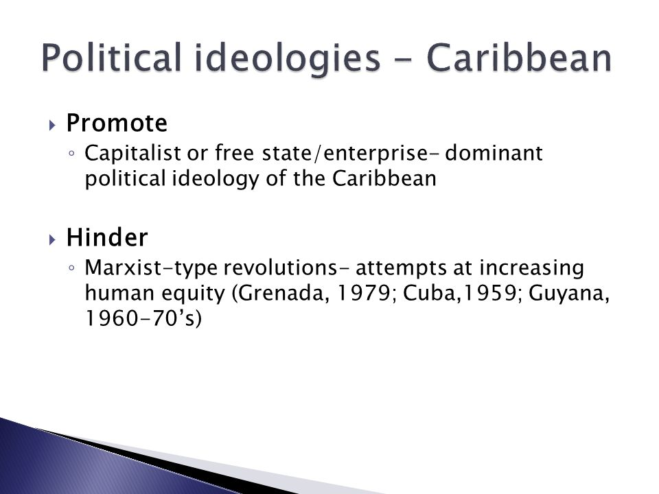 Political ideologies - Caribbean