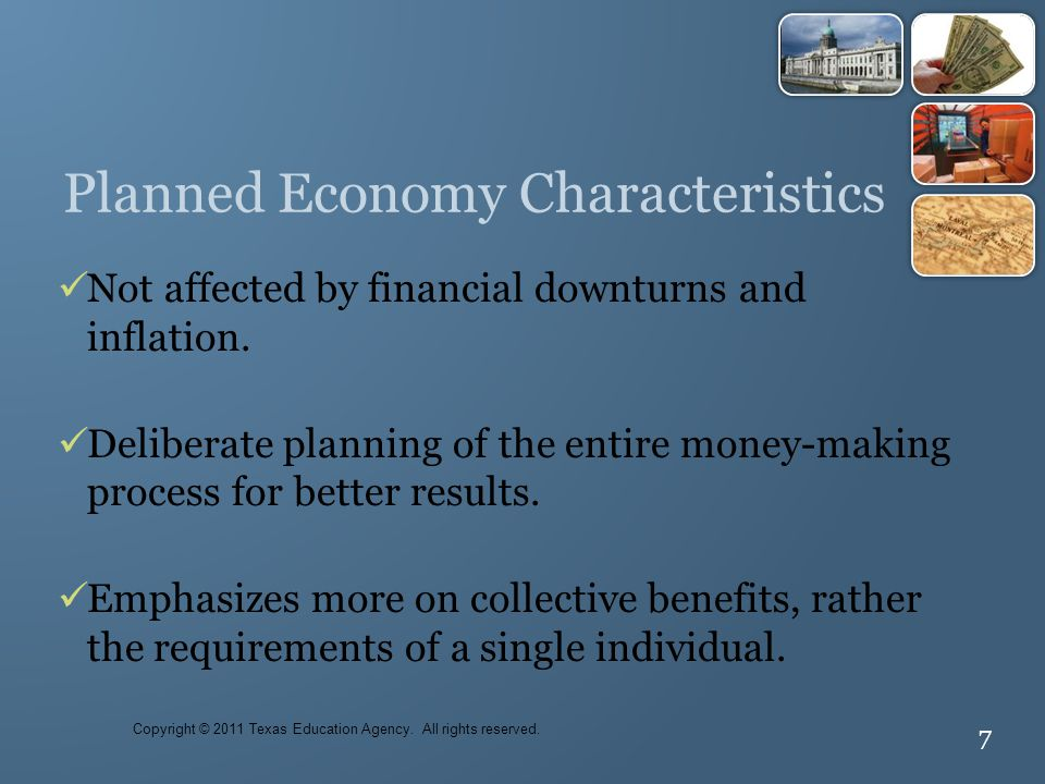 Planned Economy Characteristics