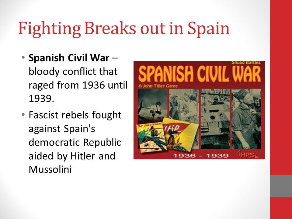 Fighting Breaks out in Spain