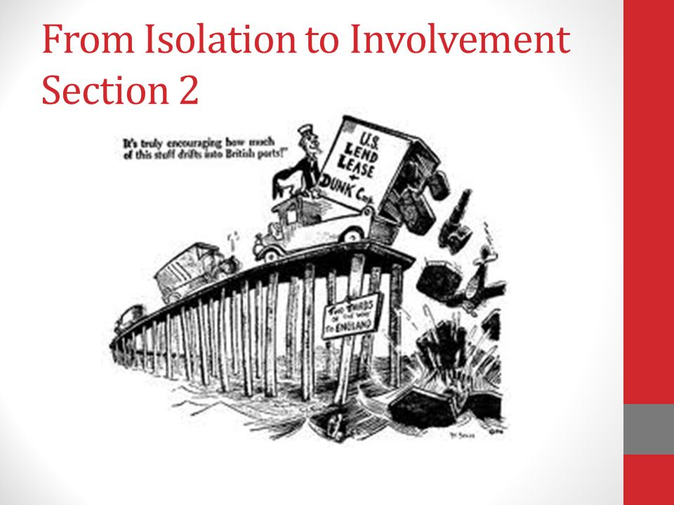 From Isolation to Involvement Section 2