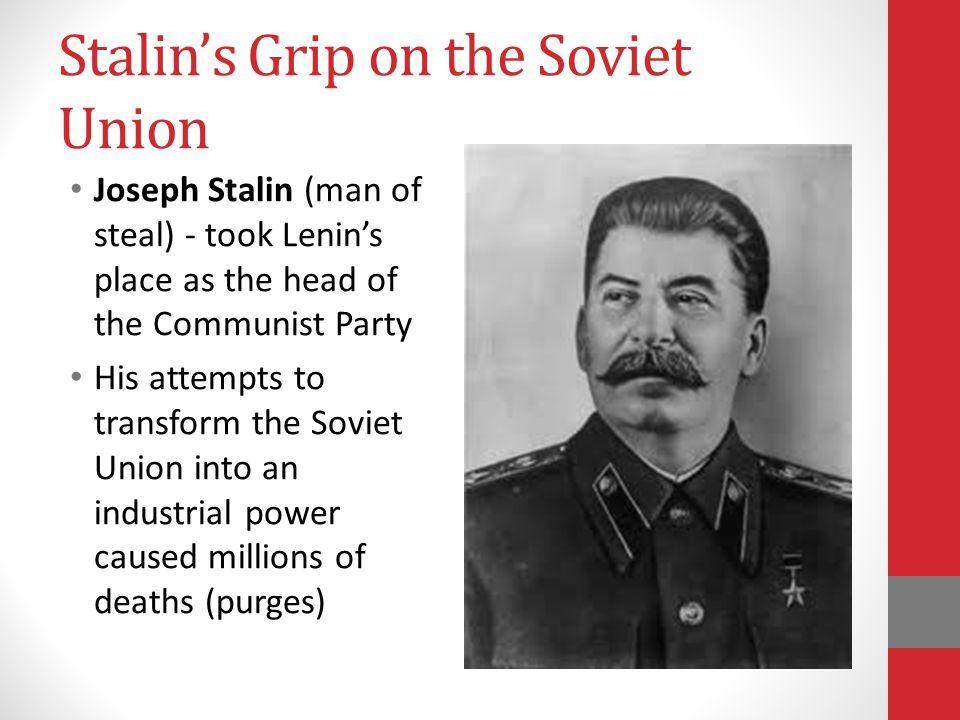 Stalin's Grip on the Soviet Union