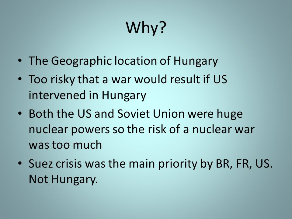 Why The Geographic location of Hungary